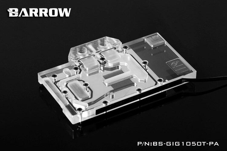 Barrow BS-GIG1050T-PA Block for GIGA GTX 1050T/1050 G1 Gaming deuter giga blackberry dresscode