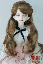 JD323  1/4(18-20CM) doll wigs  7-8inch MSD complex braid princess BJD doll hair