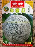 200PCS Japanese sunshine Eros Melon Seeds, Green flesh net Muskmelon Seeds, super qualtiy sweet fruit seeds