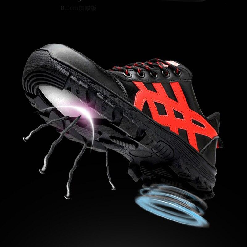Pu Travail Militaire Bottes Plein Chaussures Femme Hommes Caoutchouc Indestructible Sneakers De Sécurité Air Cheville Armée D'acier Noir En Embout kZuPXiOT