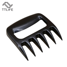 TTLIFE New Arrival Shredding Pulling Grill Tools Meat Fork Kitchen Gadgets Meat Handler Bear Claw BBQ Forks