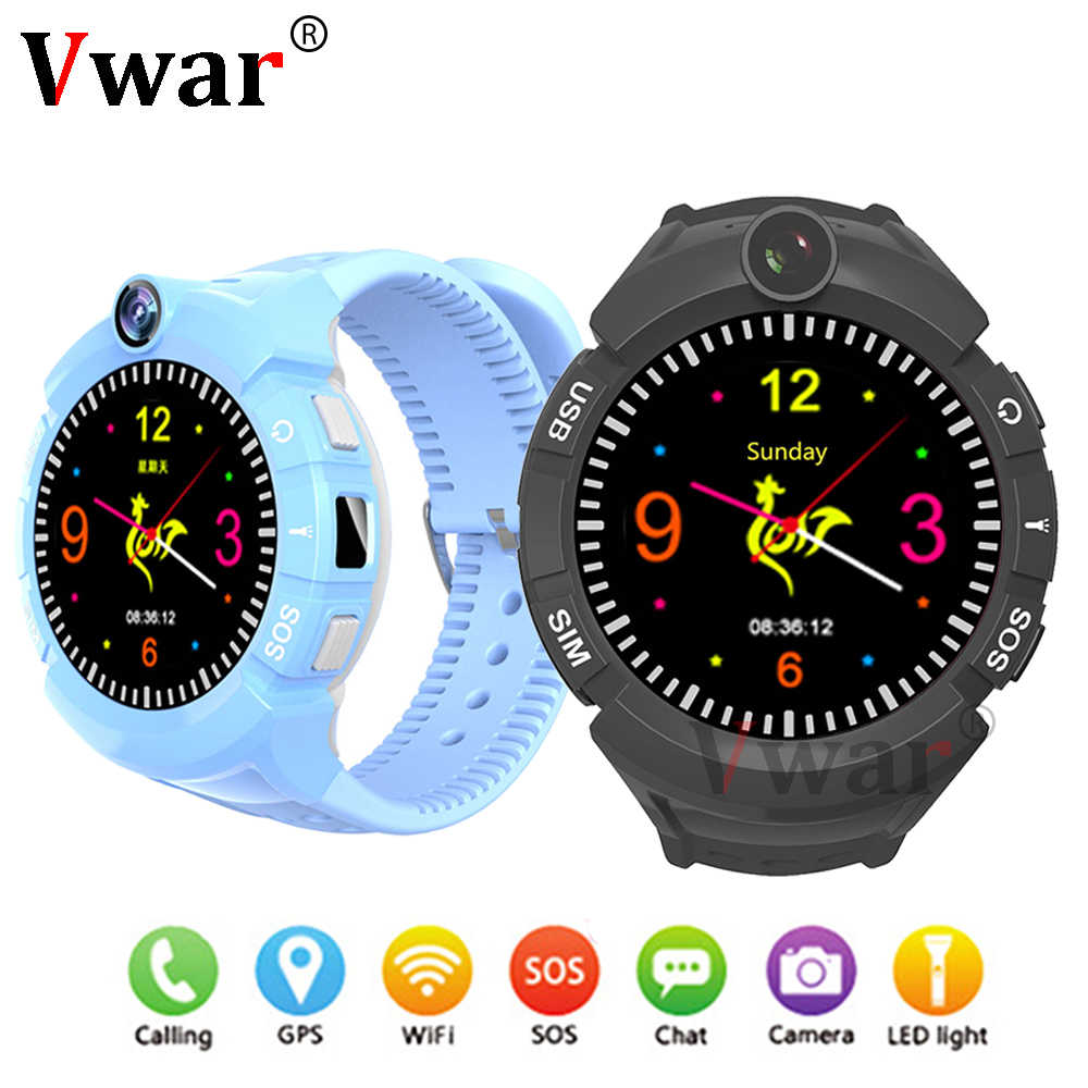 Q360 Vm50 Baby GPS WIFI Smart Watch Touch Screen SOS Call Location Device Tracker for Kid child Safe Smartwatch PK Q100 Q528 Q90