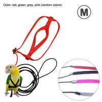 Adjustable Parrots Bird Harness Leash Anti-Bite Training Rope Outdoor Flying Harness Leash @LS