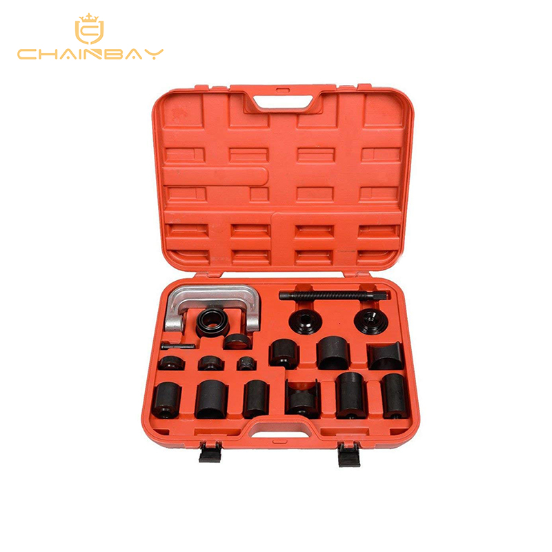 21 Pcs Master Adaptor Set Ball Joint Service Kit C Press Truck Car Ball Joint Kit Remover Installer Car Repair Tools