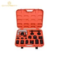 21 Pcs Master Adaptor Set Ball Joint Service Kit C Press Truck Car Ball Joint Kit Remover Installer Car Repair Tools