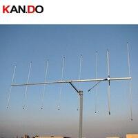 Антенна ветчины 10.5dBi V полоса yagi антенна 144 146 МГц любительский ретранслятор антенна двухстороннее радио усиление Любительская радио антенн