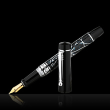 Купить с кэшбэком Picasso 90 Women and Flowers 14K Gold Nib Fountain Pen Elegant Color with Original Gift Box for Writing Gift Collection