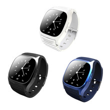 Wearable Devices Bluetooth font b Smart b font font b Watch b font M26 Support Hebrew