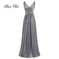 Vestido De Festa A Line Satin Long Evening Dress 2016 Vestido Longo Prom Dresses Party Dresses