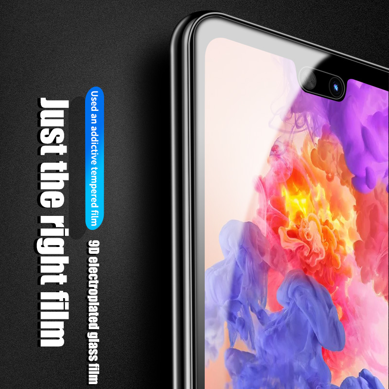 ZNP-9D-Tempered-Glass-On-The-For-For-Huawei-P20-Lite-P20-Pro-Screen-Protector-Film6
