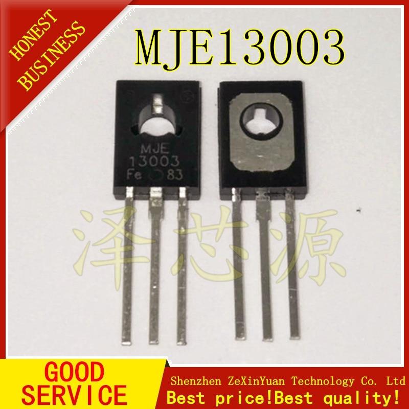 30PCS MJE13003 E13003-2 E13003 13003 TO-126 Transistor