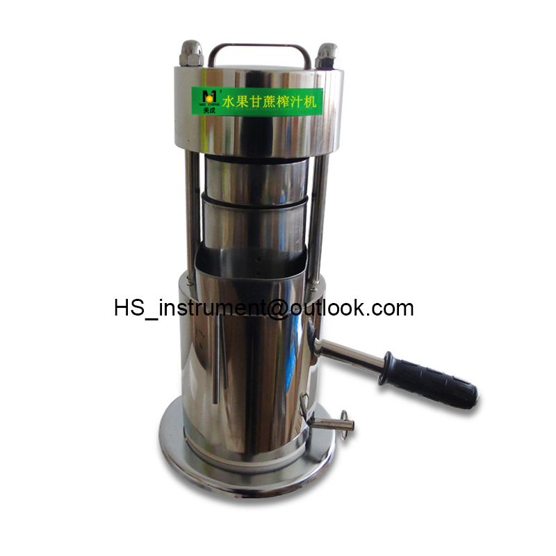 High Quality Fruit Juice Extractor Handle 10T Hydraulic Fruit Sugar Cane Juicer high quality juicer sugar cane ginger press juicer juice machine press manual commercial