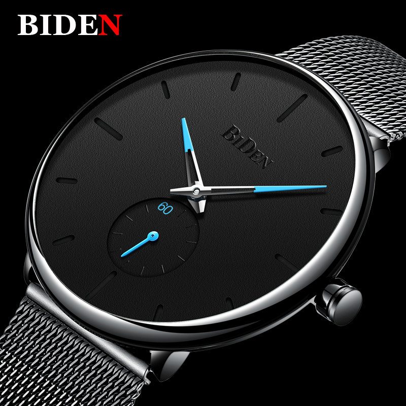2018 New Stainless Steel Mesh Strap Ultra Thin Clock Male New Top Brand Luxury Watch Men Casual Japan Quartz-watch dropshipping nibosi men s watches new luxury brand watch men fashion sports quartz watch stainless steel mesh strap ultra thin dial men clock