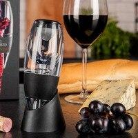 Аэратор вина Быстрый декантирования красный винный декантер набор с фильтром стенд диспенсер Виски Бар интимные аксессуары