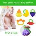 Silicone bebê mordedor BPA livre novo pulseira de garrafa forma de banana mordedor Escova Formação Mastigação Massageador Legal Da Criança Infantil