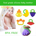 silicone baby teether BPA free new banana bottle bracelet shape teether Toothbrush Training Chewing Cool Massager Infant Toddler