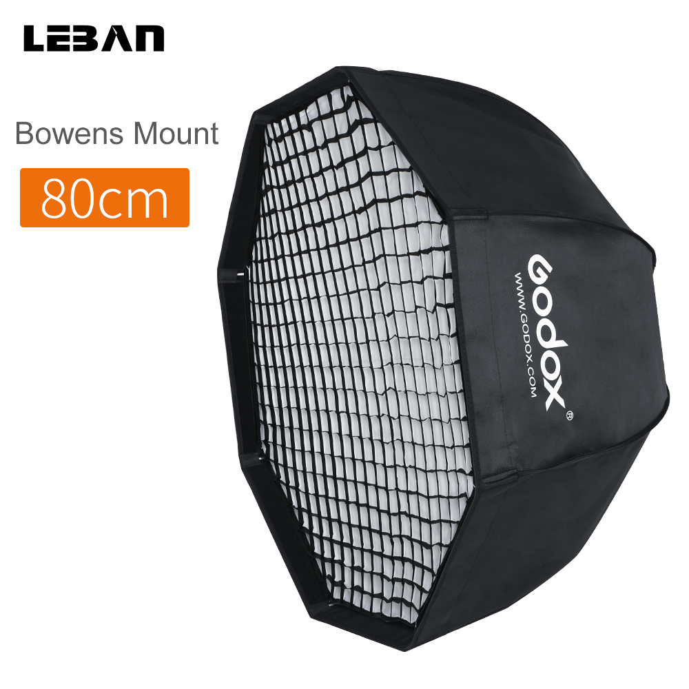 Godox SB UE 80cm 31 5in Portable Octagon Umbrella Honeycomb Grid Softbox with Bowens Mount for