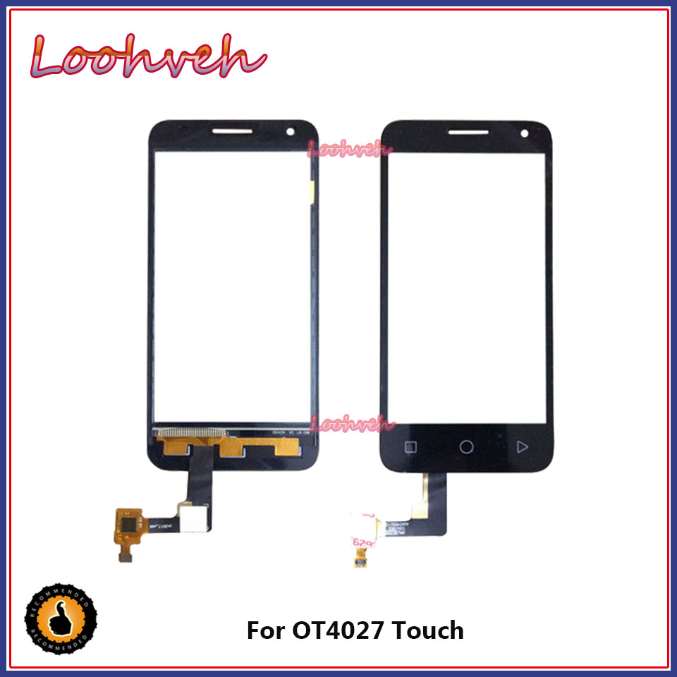 4.5 inch Front Glass For Alcatel One Touch Pixi 3 <font><b>4027D</b></font> 4027X 5017 5017E VF795 OT4027 4027 Smart Speed 6 Touch Screen Panel image