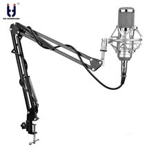 Ituf BM-800 Professional Studio Condenser Mic & FM-35 Adjustable Recording Mic Suspension Arm Stand with Shock Mount KIT BM 800(China)