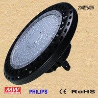 250 светодиодный W UFO led High Bay Light, 30000LM 6000 K 6500 K Дневной свет белый Ультра светодиодный тонкий светодиодный склад освещение, IP65 водостойкий