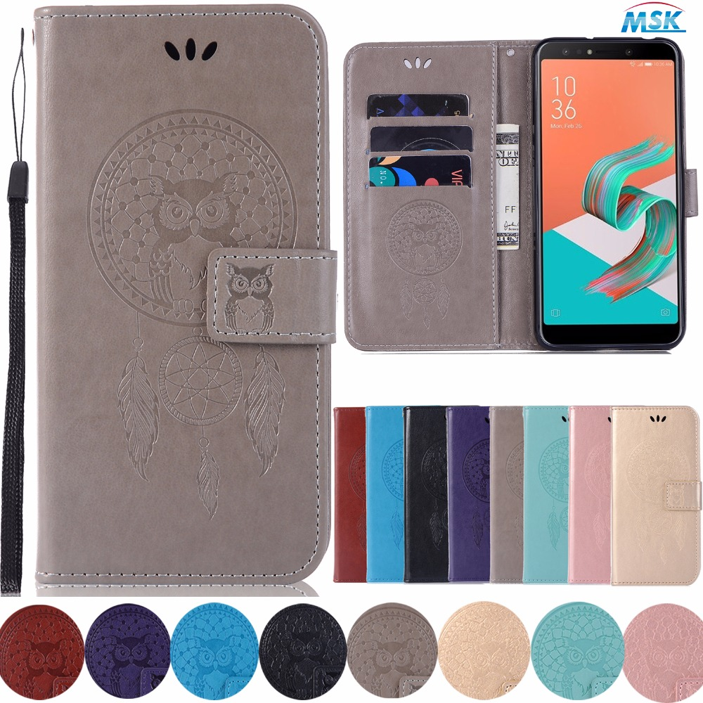 new style 4d558 3688d US $4.99 |Wallet Leather case for Asus ZenFone 5Q ZC600KL 5 Lite Case Stand  And Flip cover for Asus ZenFone 5 Lite 5 Q ZC 600KL phone case-in Flip ...