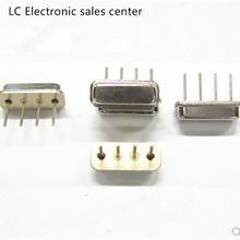 10pcs SAW Acustica di Superficie di Cristallo Risonatore F11 R315A 315M con 4P 75K Oro Placcato 315MHZ(China)