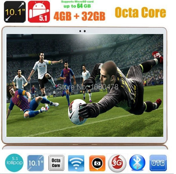 10 inch 4G LTE tablet pc Octa Core 4GB RAM 32GB ROM Android 5 1 IPS
