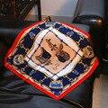 Bolso de La Manera de 5 colores 53 cm Impreso bufanda de seda pequeña bufanda cuadrada 2017 de Las MÁS NUEVAS Mujeres bufandas de Seda pequeña Plaza 100% bufanda de seda