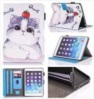 Fashion Cartoon Leather PU Case For Sasmung Galaxy Tab S3 9 7 T820 T825 Cases Cover