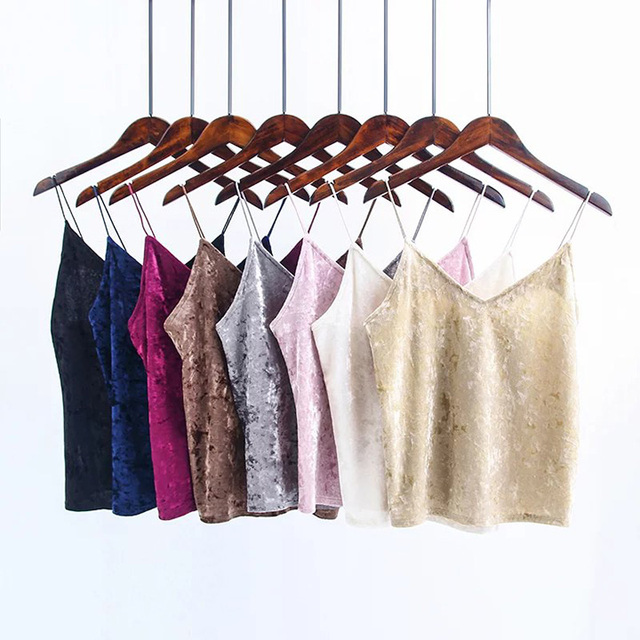 2017 verano nueva moda sexy V cuello del chaleco del todo-fósforo taladro amianthus blusa color 8 alumnas