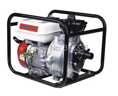 Gasoline High Pressure Water Pump  WP15H  1.5 inch GX160 G168 3 inch gasoline water pump wp30 landscaped garden section 168f gx160 agricultural pumps