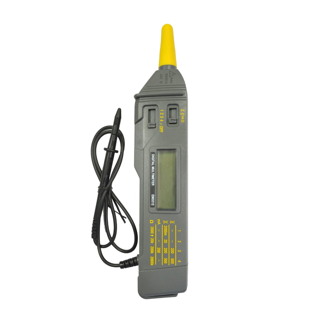 all-sun EM3212 Pen probe style digital multimeter non-contact measuring AC/DC voltage multimeter DC current resistance tester