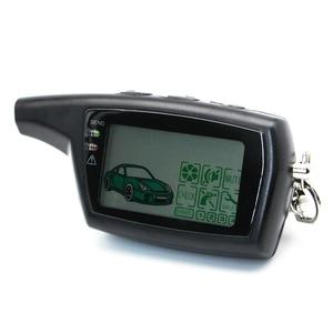 Image 3 - Dxl 3000 lcd chaveiro de controle remoto para a versão russa segurança do veículo em dois sentidos sistema alarme carro chave pandora dxl3000