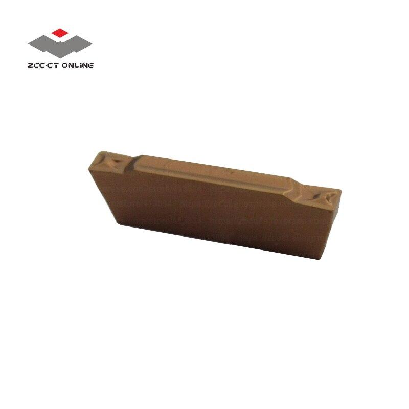 10pcs ZCC blade cutter ZTBD02002 MM YB9320 2mm parting tip MGMN200