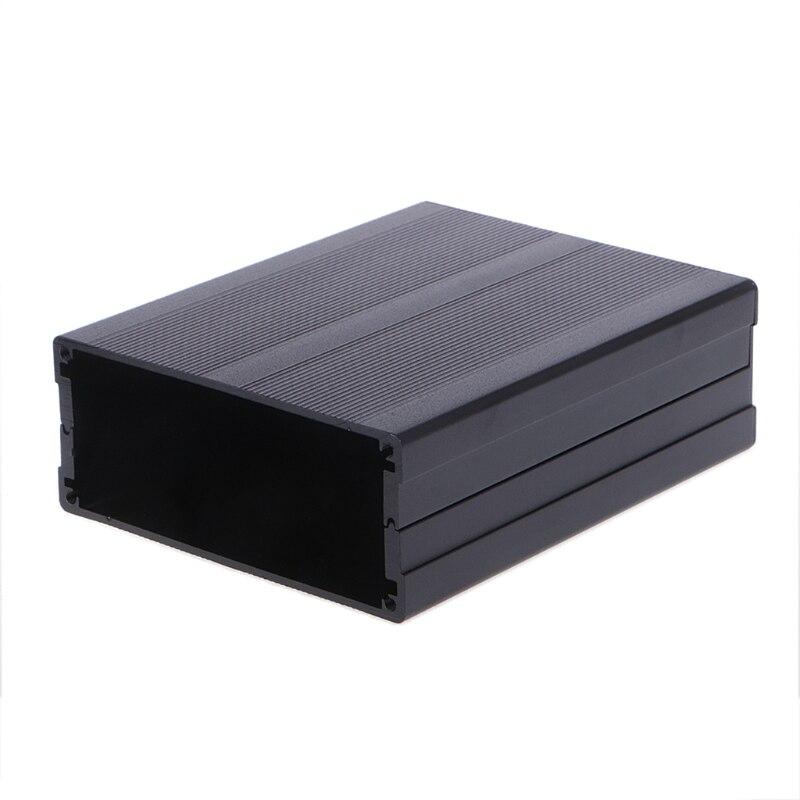 Extruded Aluminum Instrument Box Enclosure Case Power Supply Unit 120x97x40mm
