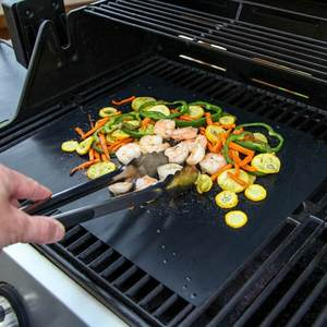 SEASENXI Grill Mat Plate Non-stick BBQ Accessories Cover