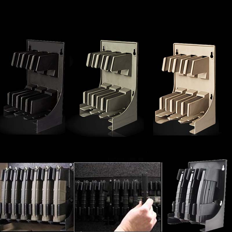 Tactical Mag Storage Solutions Mags MAG Holder Magazine Pouch Rack for Hunting Airsoft 30 Rounds AR-15 5.56 .223 Caliber image