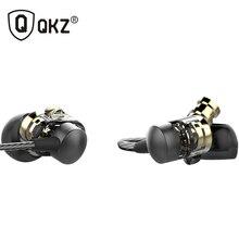 DM8 QKZ Hybrid Dual Controlador Dinámico En La Oreja Los Auriculares Auriculares Originales Auriculares fone de ouvido Auriculares Para Juegos de Auriculares MP3