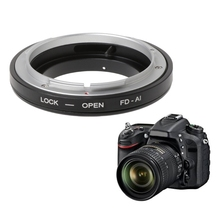 FD-AI Mount Adapter Ring For Canon FD Lens to Nikon F D7100/ D600/ D3200/ D800 цены