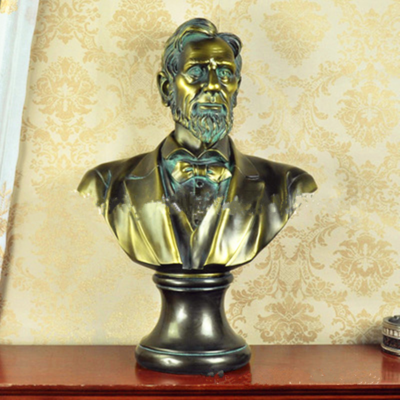 President Of The United States Of America Statesman Bust Statue Colophony Crafts Desktop Decoration Office G1035President Of The United States Of America Statesman Bust Statue Colophony Crafts Desktop Decoration Office G1035