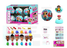 Change Egg Doll Action Figure Toys
