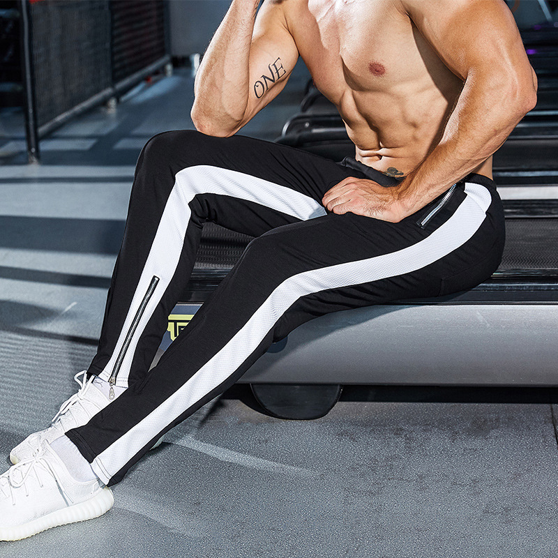 Men's clothing trousers 2018 jogger sportswear casual stretch pants men's gyms fitness pants Sweatpants fashion men's pants