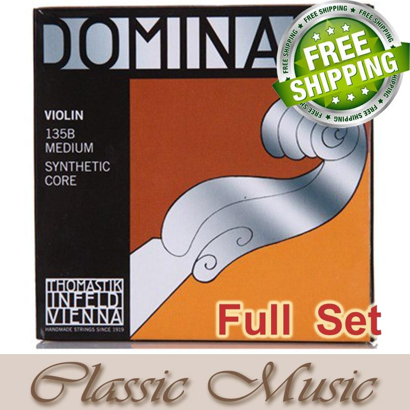 Thomastik Dominant 135B Full Violin String Set 4/4 Medium. Made in Austria. free shipping,Thomastik Dominant 135B Full Violin String Set 4/4 Medium. Made in Austria. free shipping,