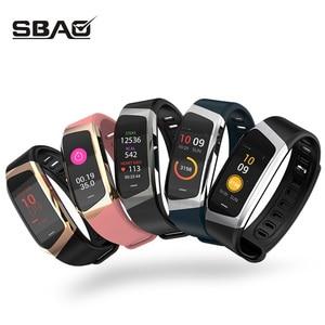 Image 2 - Fitness Armband Smart Uhr Männer Frauen Sport Band Fitness Tracker Smartband Blutdruck Wasserdichte Smartwatch Sport Armband Männer der Armbanduhr