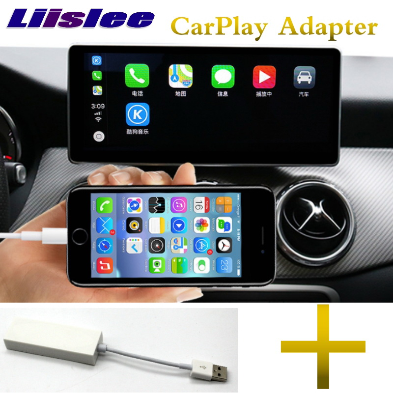 Liandlee Car Multimedia Player NAVI For Mercedes Benz MB GLA Class X156 2014~2018 CarPlay Adapter Radio Stereo GPS Navigation