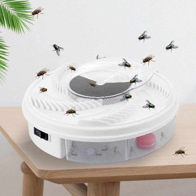 Electric Fly Trap USB Anti Pest Device Insect Catcher Recycling Automatic Flycatcher Effective Flies Trap Catching Insect Killer