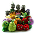 Fashion Wholesale 30 PCS Kinds A Set Plants VS. Zombies Phone Game Soft Stuffed & Plush Plants