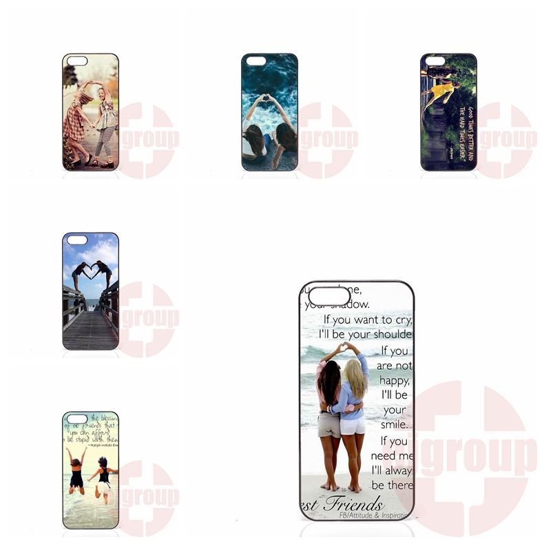 matching shape bff girls Samsung Galaxy S2 S3 S4 S5 S6 S7 edge mini Active Ace Ace2 Ace3 Ace4 Mobile Case  -  well cases store
