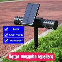 USB Solar Mosquito Killer Light Mosquito Repellent IP65 Insect Trap Lamp UV Bug Zapper Pest Control Repeller Garden Decoration