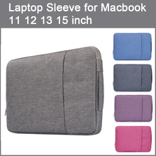 Denim Laptop Sleeve Notebook Case Bag for Macbook 11